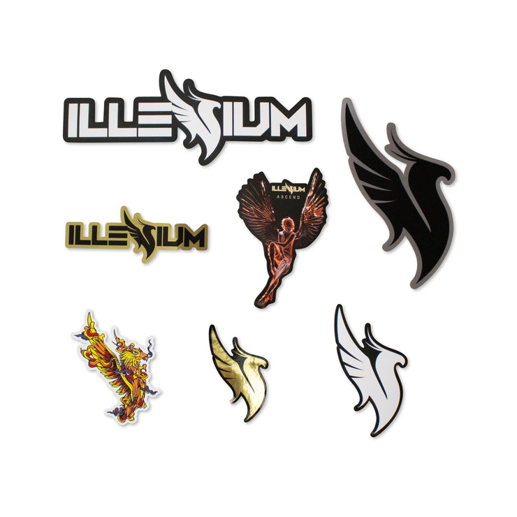 ILLENIUM Sticker Pack Sticker Pack Illenium