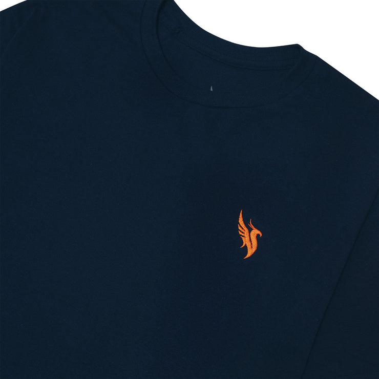 Phoenix Embroidered Tee / Navy T-shirt Illenium
