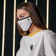 Phoenix Face Mask / White Face Mask Illenium