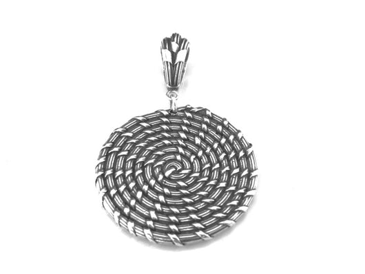 Sweet Grass Artistry Inspired: Sweet Grass Basketry Bulls Bay Large Pendant