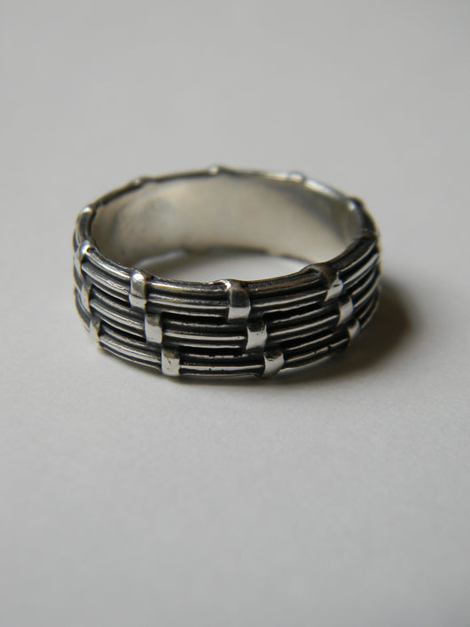 Sweet Grass Artistry Inspired: Cooper River Stackable Rings - Three Row