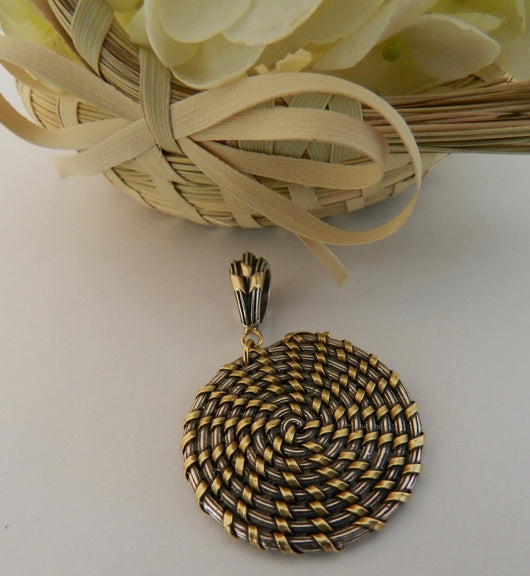 Sweet Grass Artistry Inspired: Sewee Bay Collection Pendant - Large
