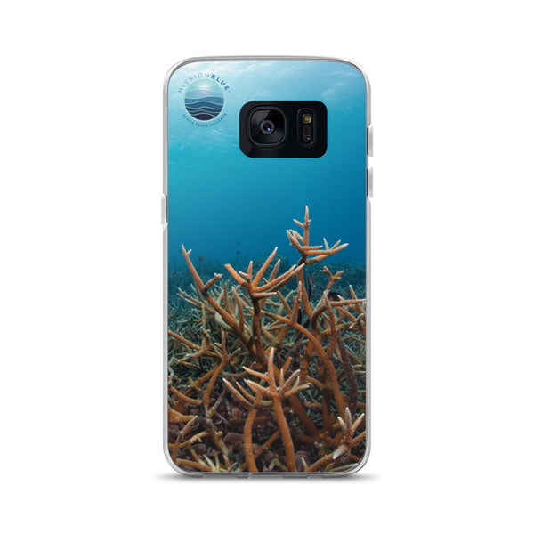 Samsung Case with Coral Bleaching!