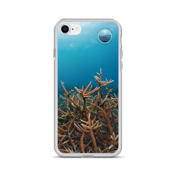 iPhone Case with Coral Bleaching!
