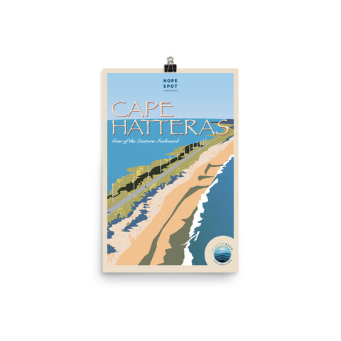 Cape Hatteras Hope Spot Poster