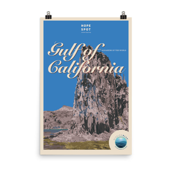 Gulf of California Hope Spot Poster
