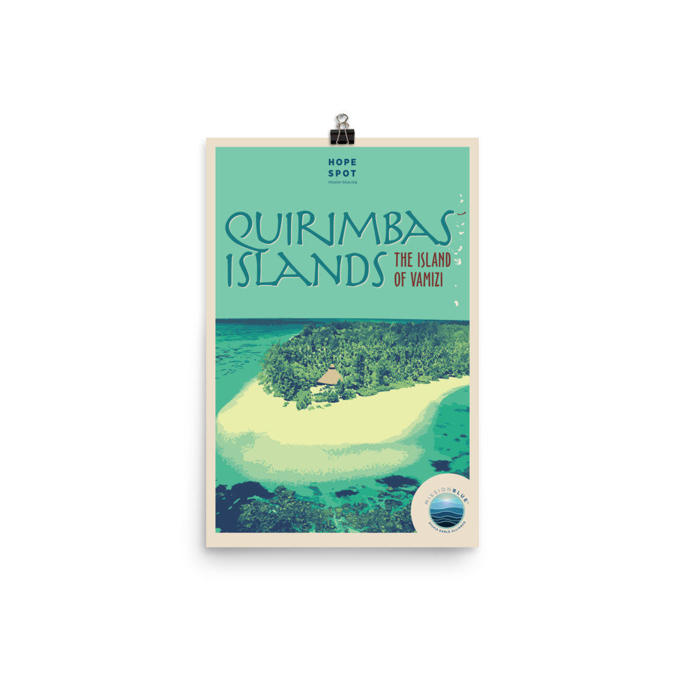 Quirimbas Islands Hope Spot Poster