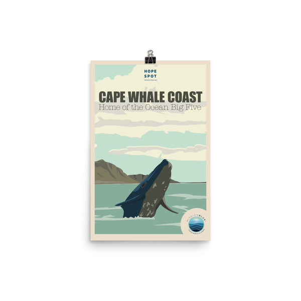 Cape Whale Coast Hope Spot Poster