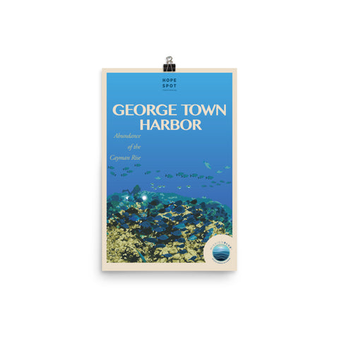 George Town Harbor Hope Spot Poster