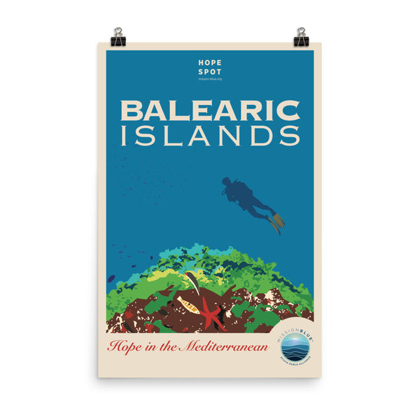 Balearic Islands Hope Spot Poster