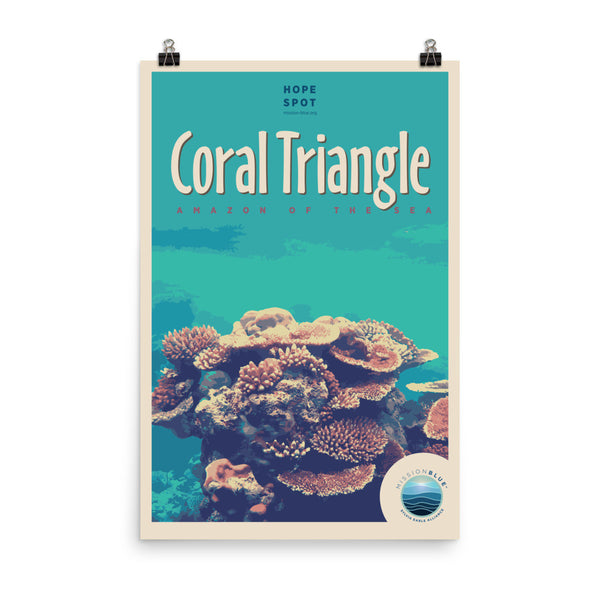 Coral Triangle Hope Spot Poster