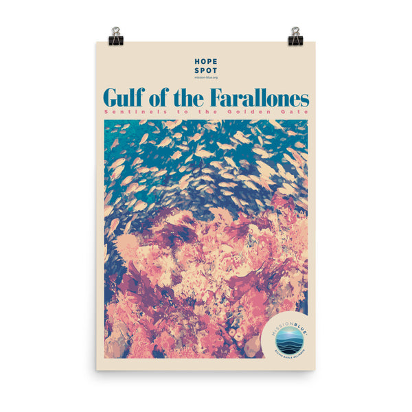 Gulf of the Farallones Hope Spot Poster