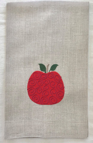 Fall Decor Fall Linen Hand Towel Personalized with Embroidered Turkey and Name-Hostess gift-Wedding Gift