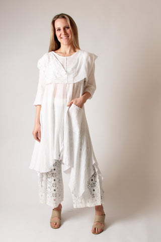 Cotton Gauze Summer Tunic