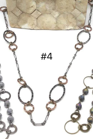 Georgene Necklace 5 Mask Chains