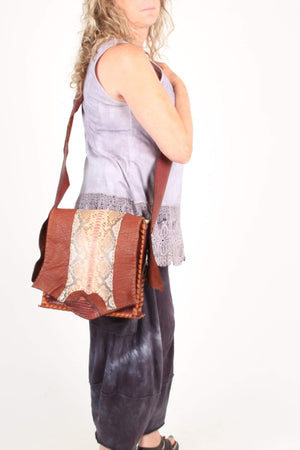 Journey bags Handbag Taos Cognac Buffalo Bag