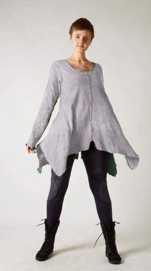 n/a Shop XS / Grey Elly Tunic on the Rack
