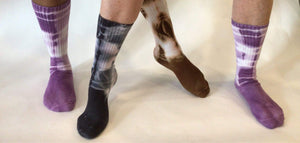 Steel Pony Accessories Tie Dye Socks