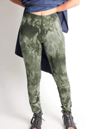 Steel Pony Bottoms XS / Winter Green Scrunch Dye Lisa Legging