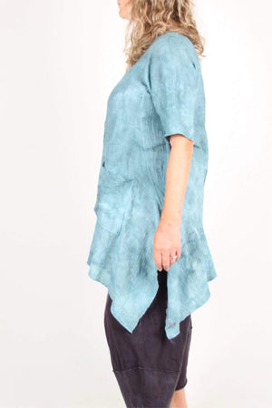 Steel Pony Cotton gauze Tunic on the Rack