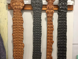 Steel Pony Crocodile belts