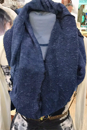 Steel Pony Infinity Sweater Scarf