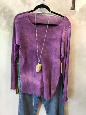 Steel Pony Large / Violet Sam Mesh Top on the Rack