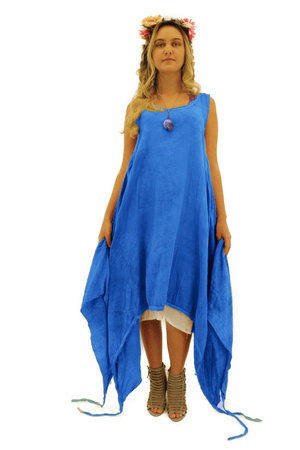 Steel Pony Large/XL / Bright Blue Ariana summer Dresses On the Rack