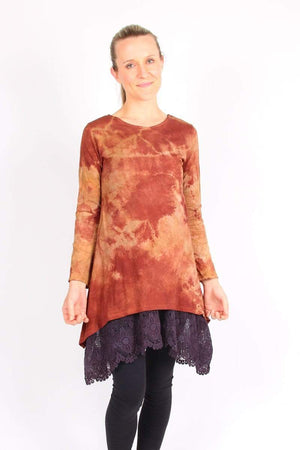 Steel Pony Shop Small / Indian Red Delilah Tunic