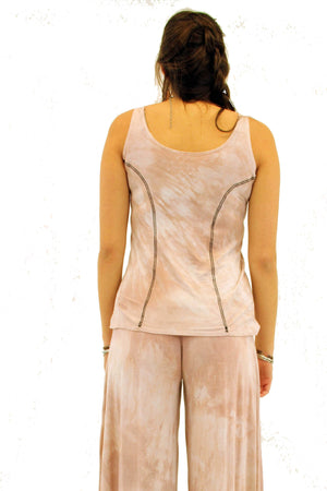 Steel Pony Small / Blush Aura Modal Tank