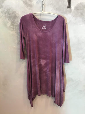 Steel Pony Small / Boysenberry Randy Tunic Dress on the Rack