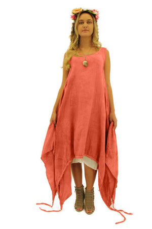 Steel Pony Small/Medium / Tea Rose Ariana summer Dresses On the Rack