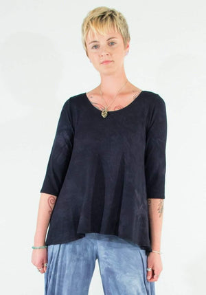 Steel Pony SP Essentials Ashley Comfortable A-line modal top on the Rack