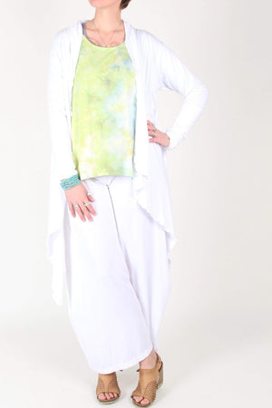 Steel Pony SP Essentials White / Small Pam Palazzo Pant