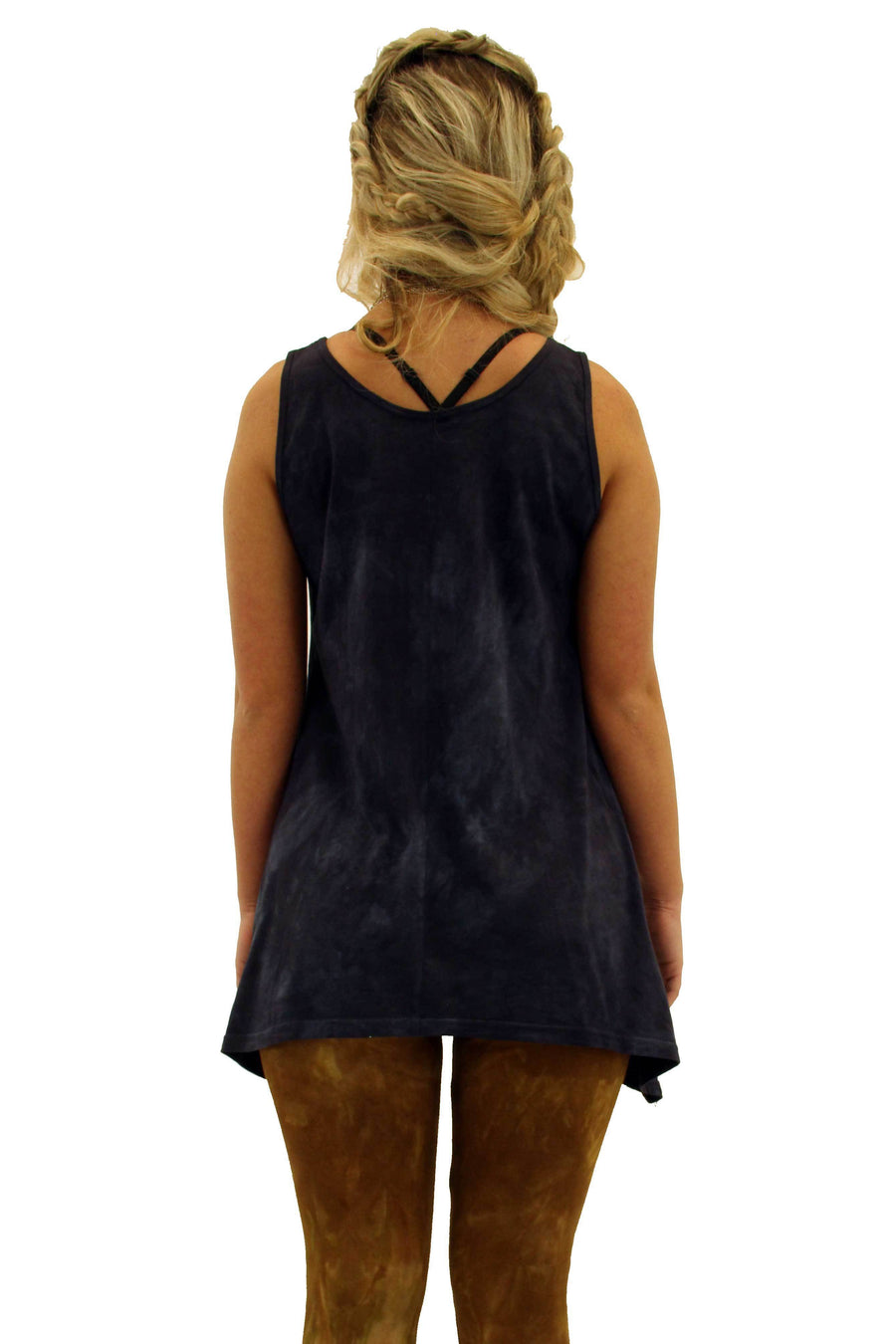 Steel Pony tank Small / Black Dara Tank Tunic