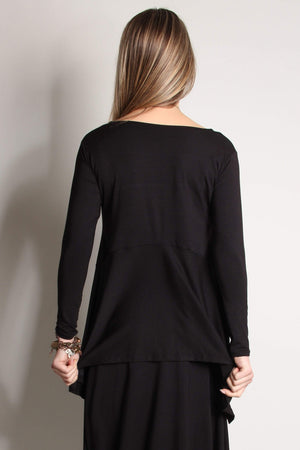 Steel Pony Tops BLK Taylor Modal Top