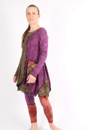 Steel Pony tunic Geneses Cotton Thermal Tunic on the rack