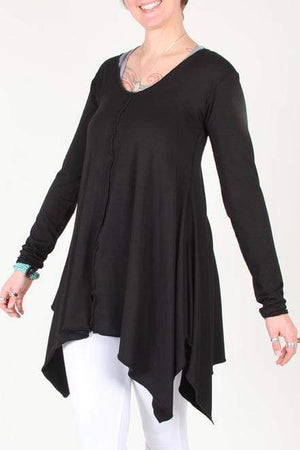 Steel Pony tunic Small / Black BLK Aura Tunic