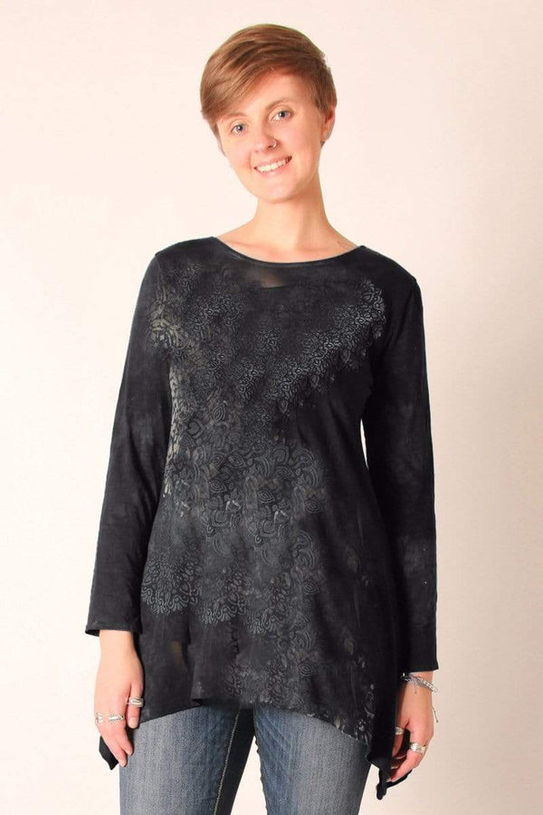 Steel Pony tunic Small / Black Priscilla Top/Tunic