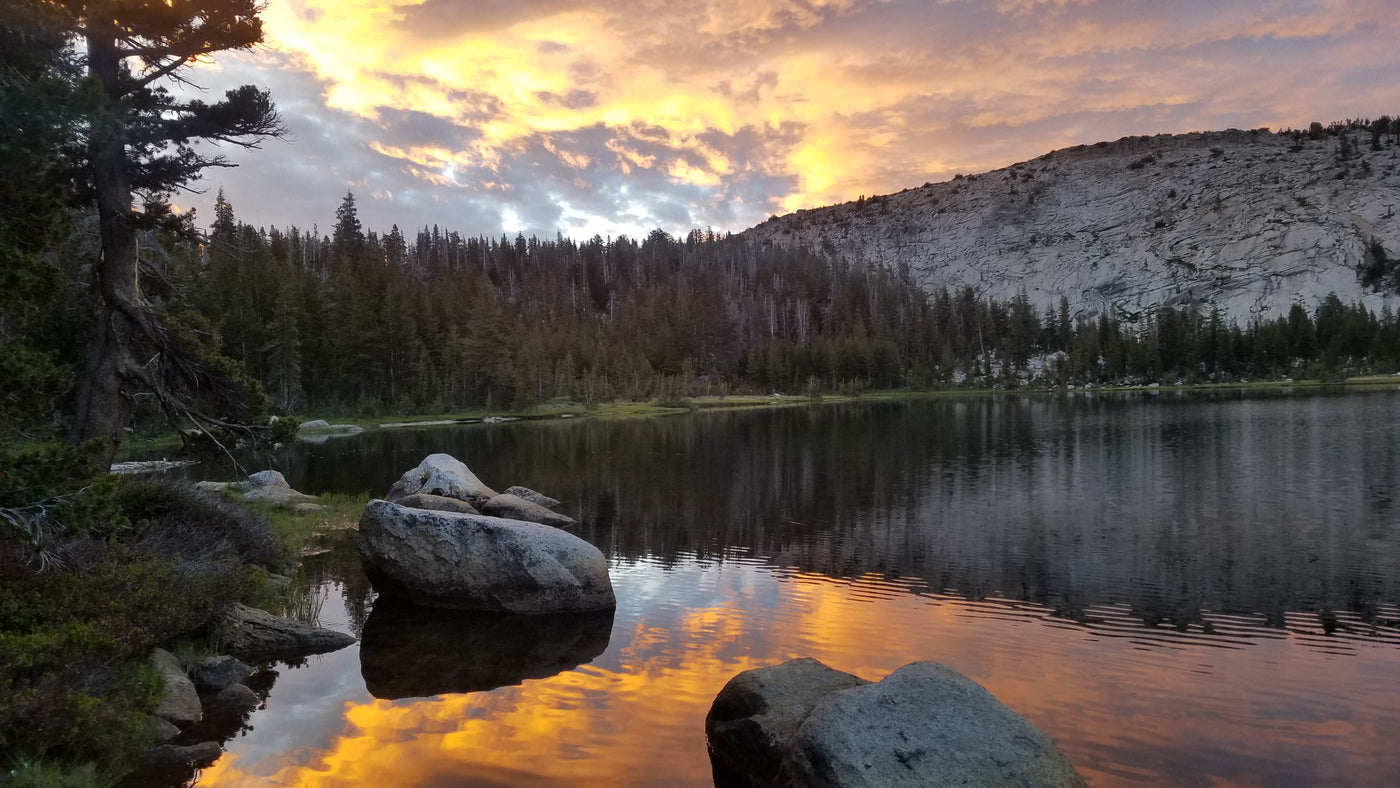 John Muir Trail sunset