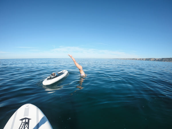 La Jolla California Paddle Board