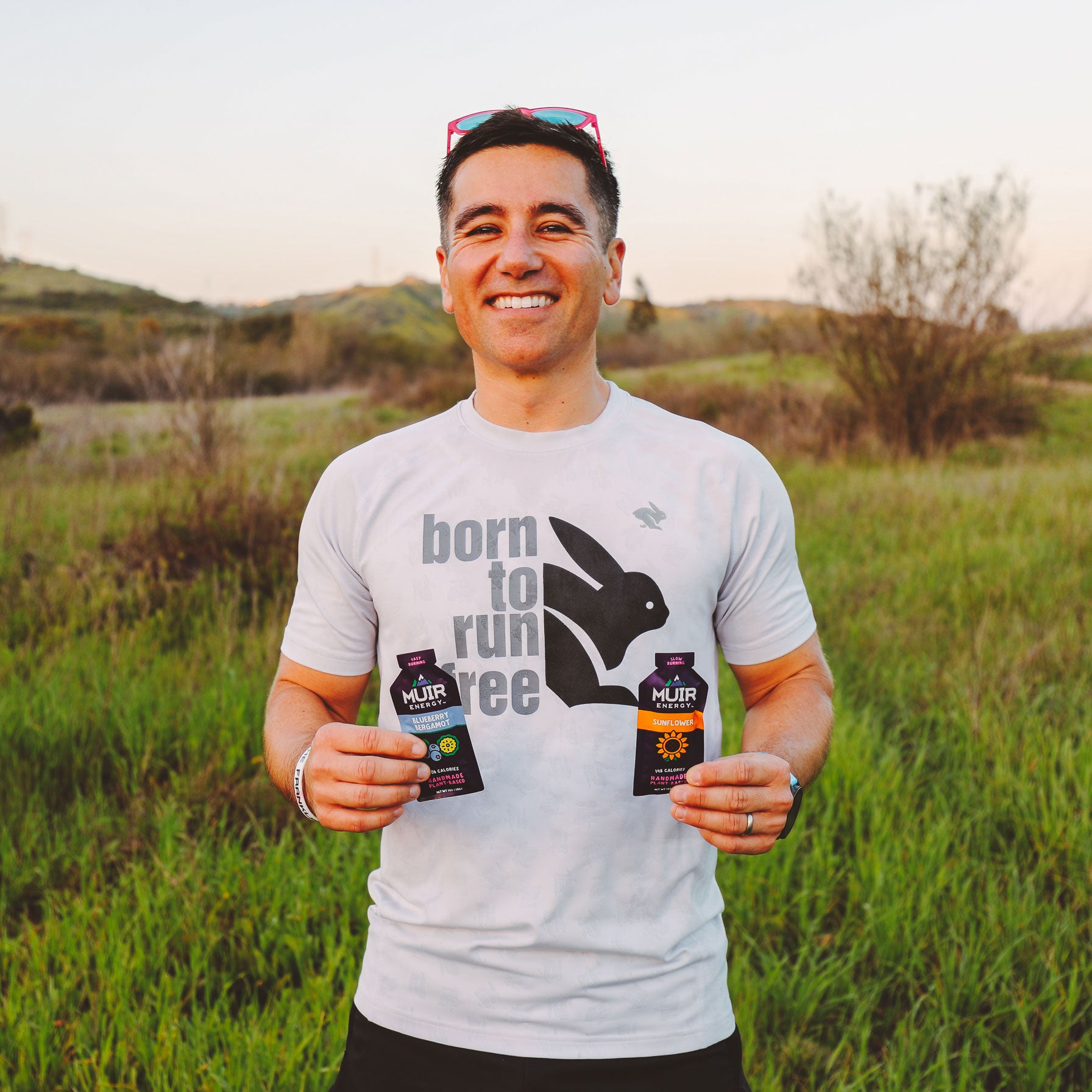 Muir Energy endurance athlete and trail runner Sean Nakamura.