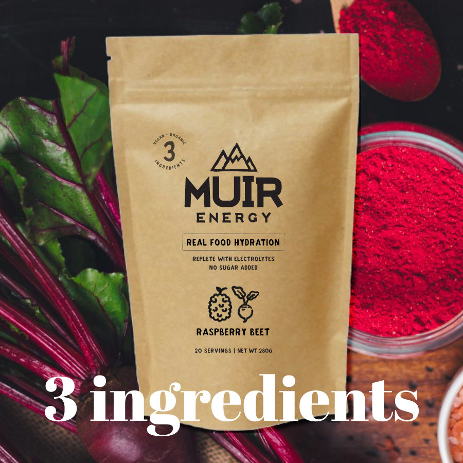 Raspberry Beet Hydration Mix, Unsweetened (20 serving bag)