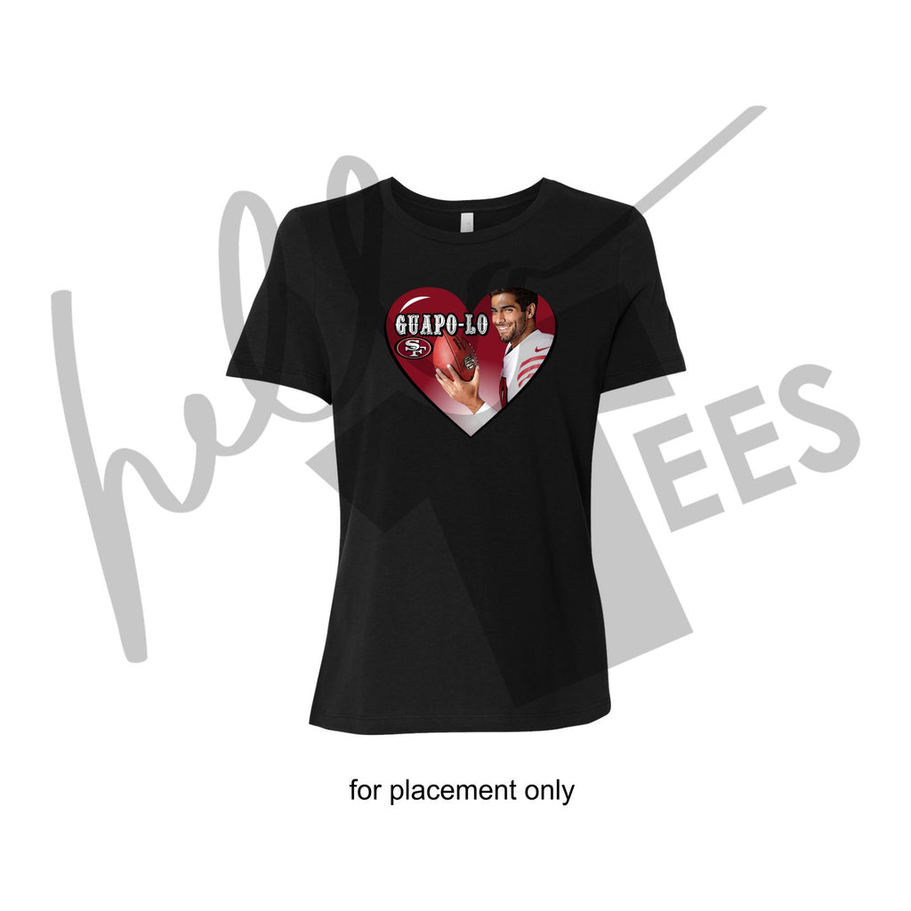 Muy Guapo-lo (LIMITED TIME ONLY)-Ladies fit - Black Tee