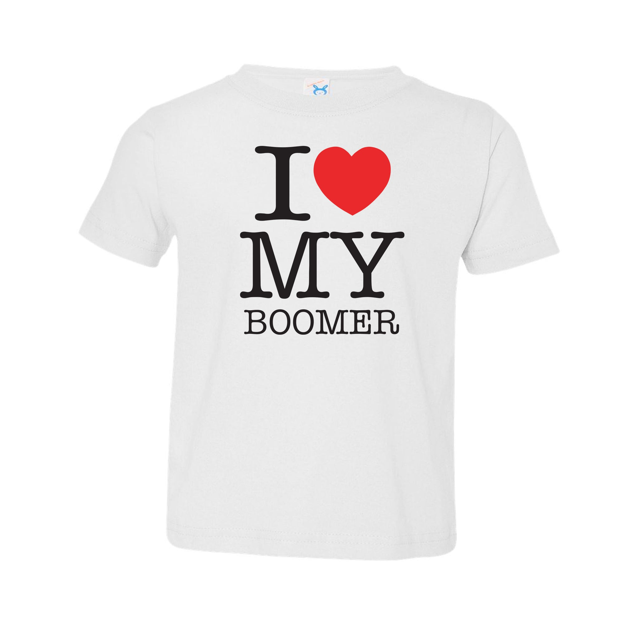 I heart my boomer- Toddler Tee