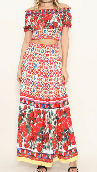 Fiesta skirt set