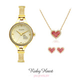 Ruby Heart Set