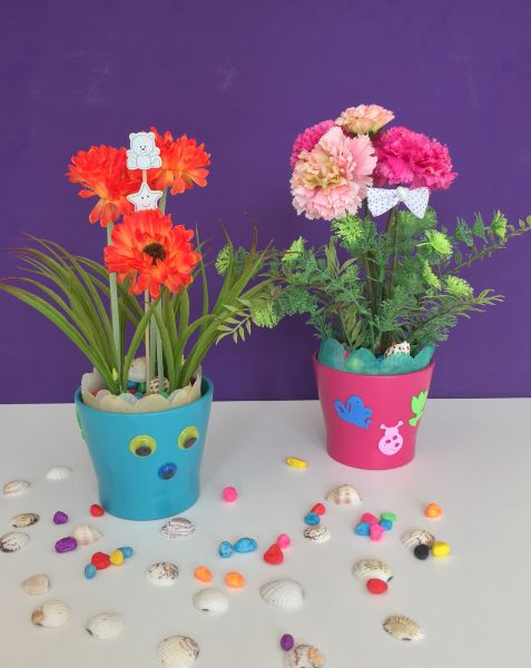 DIY flower design kit for kids
