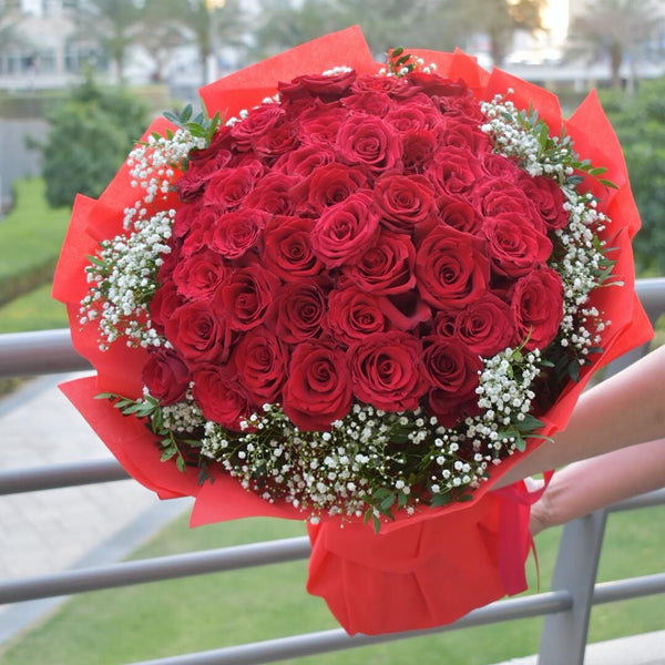 I Love You a Million -  Flower Gift  by Flower Station Dubai