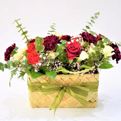 Eternal Love - Flower Basket -  Floral Gifts - The Flower Station